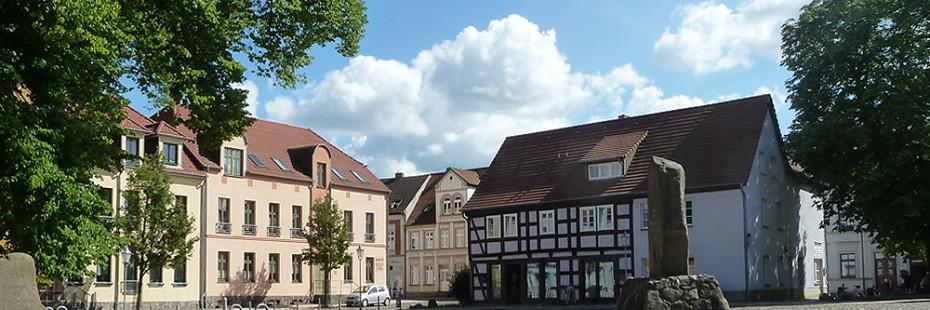 Markplatz in Wesenberg
